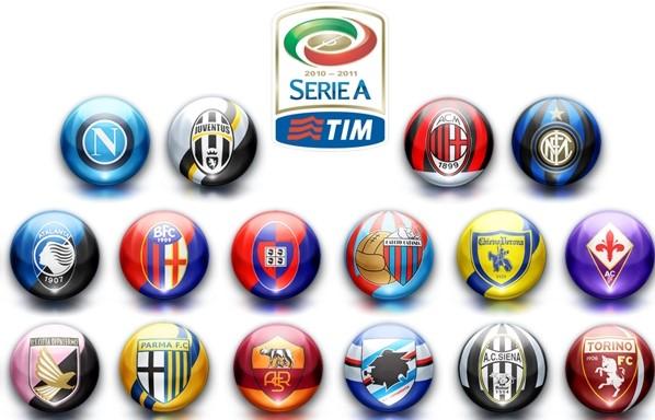 Italya Serie A Futbol Kulupleri Nelerdir